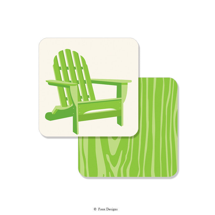 COASTERS - FXD - ADIRONDACK CHAIR SET OF 10 CARDBOARD DIGITAL