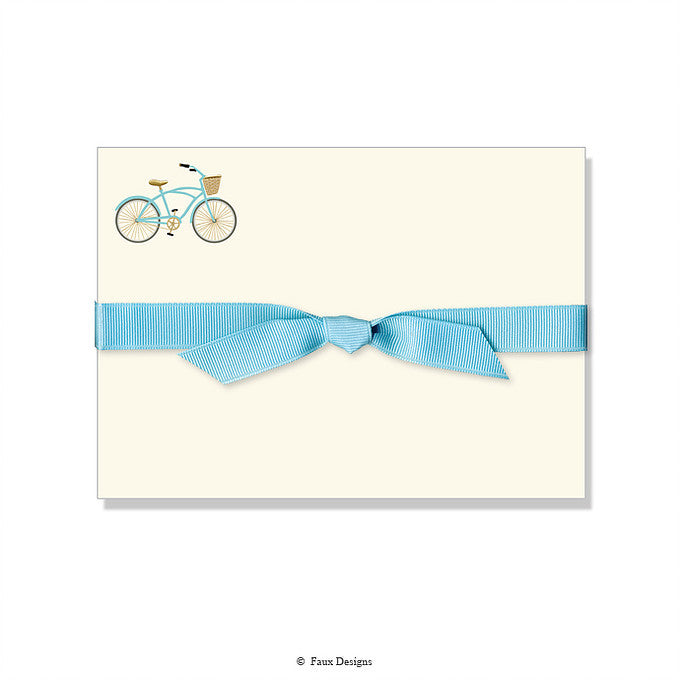 BOXED NOTE CARDS - FXD- BICYCLE