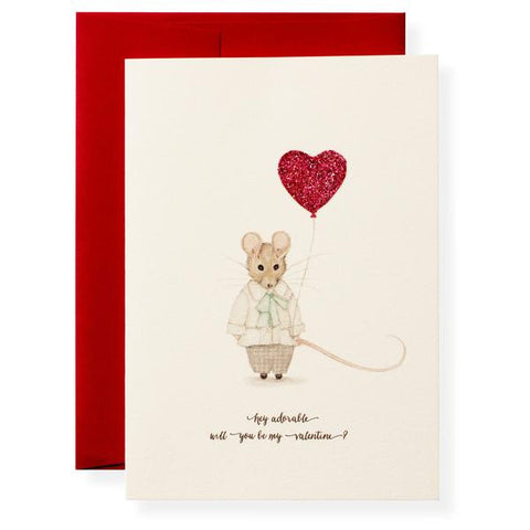 HEY ADORABLE - VALENTINE'S CARD