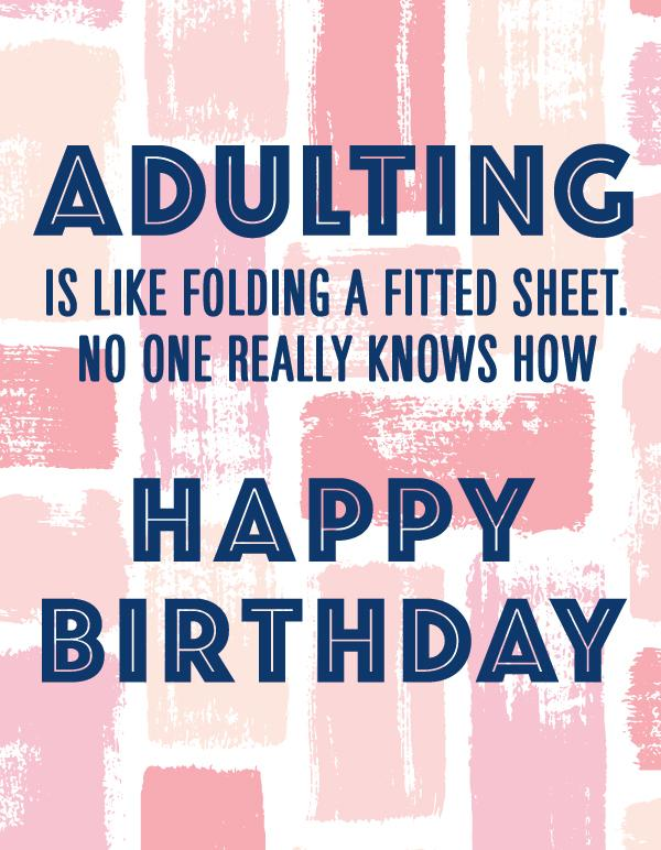 BIRTHDAY - AP - ADULTING