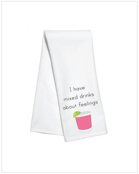 KITCHEN TOWEL - TD - MIXED FEELINGS