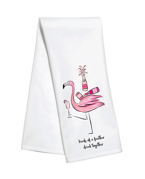 KITCHEN TOWEL - TD - BIRDS OF A FEATHER