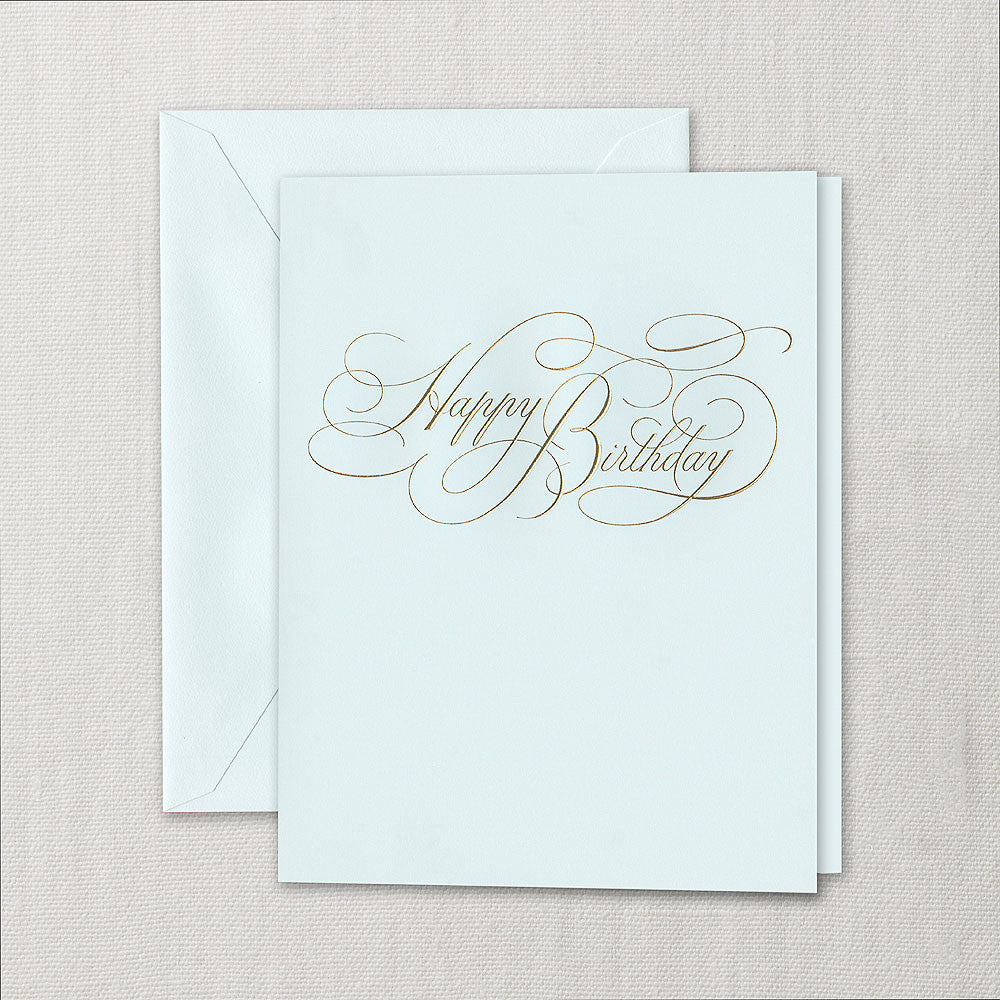BIRTHDAY - CCO - ENGRAVED  NO MSG