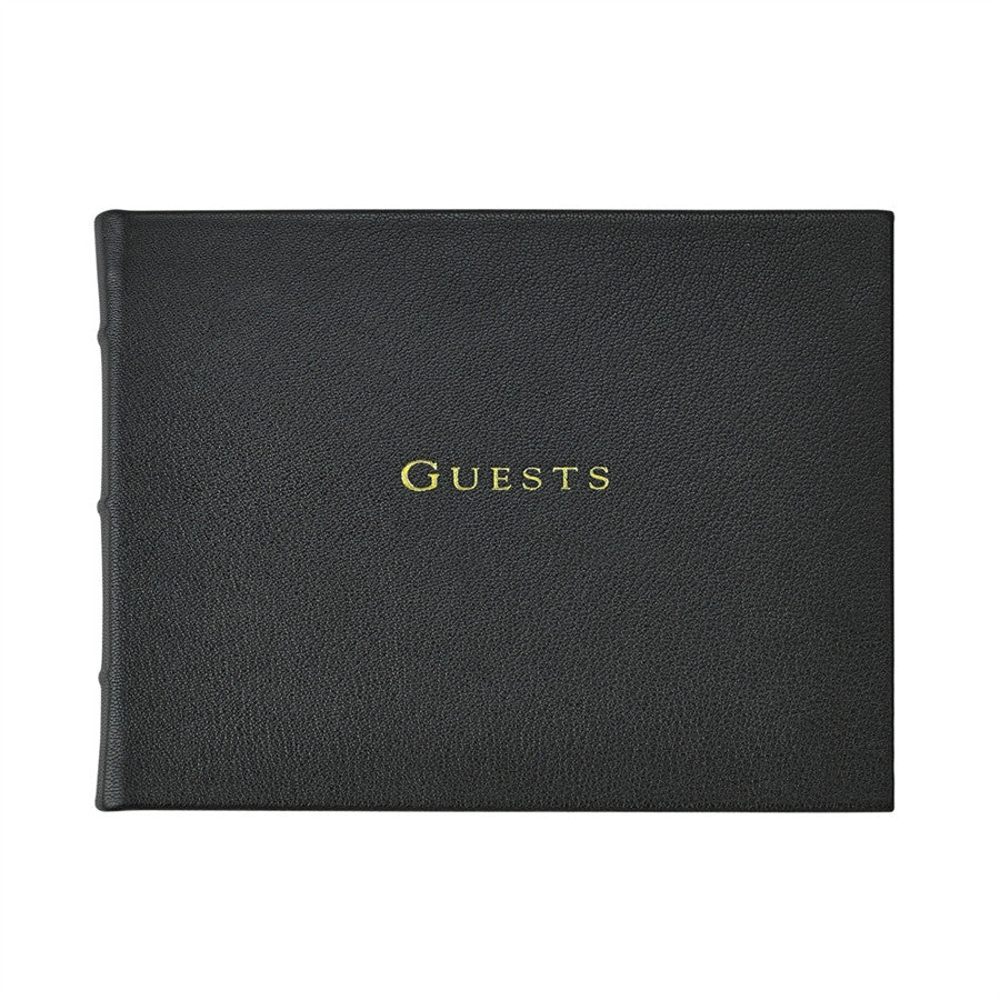 LEATHER - GUEST BOOK
