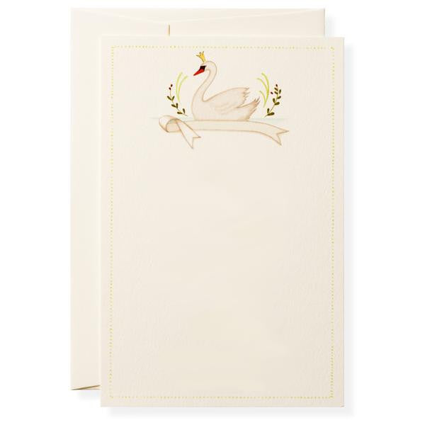 ODETTE SWAN - BOXED INVITATIONS