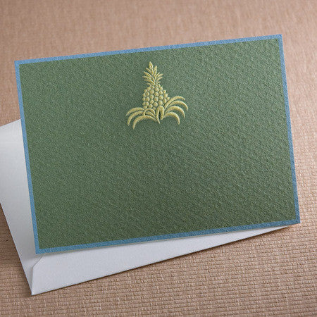 PINEAPPLE - PLACE CARD/GIFT ENCLOSURE SET