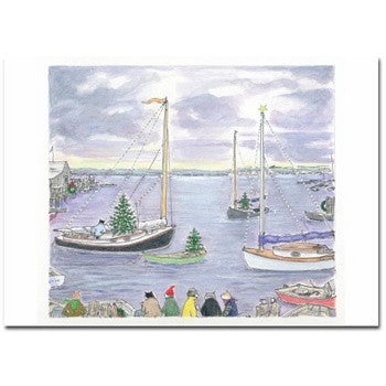 CATBOAT BASIN - GREETING CARD