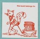 BOOKS - CBL - FOX BOOKPLATE