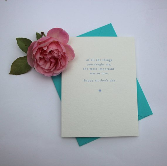 GREETING CARD - CBL - MOTHER'S DAY