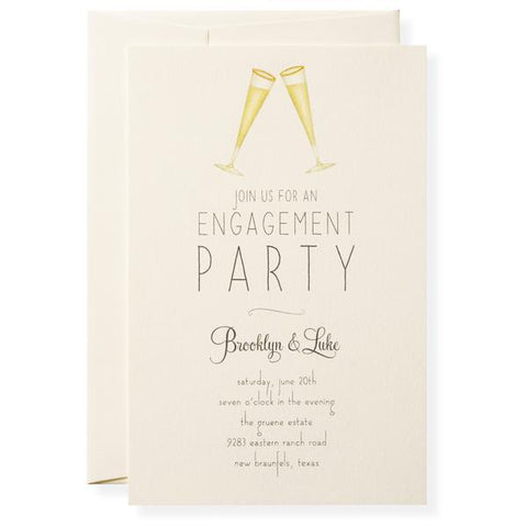 CHEERS - IMPRINTABLE INVITATIONS