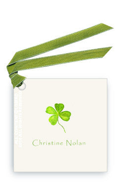 FOUR LEAF CLOVER - GIFT TAG SET