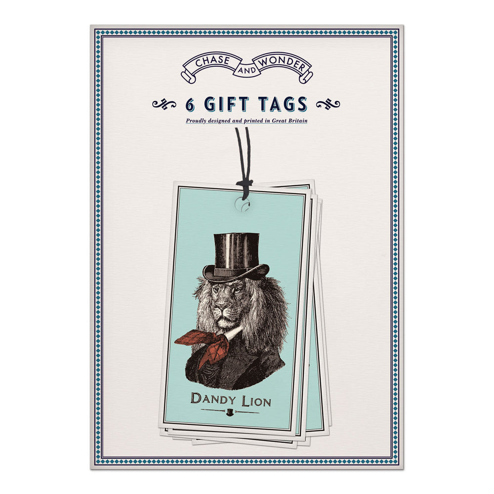 GIFT TAGS - CAW - DANDY LION