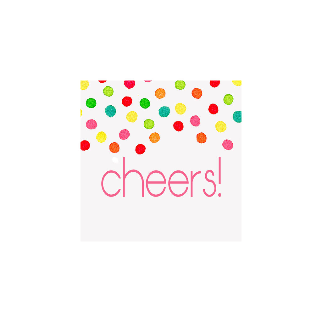 GIFT ENCLOSURE CARDS - BRK - CONFETTI CHEERS SET OF 10