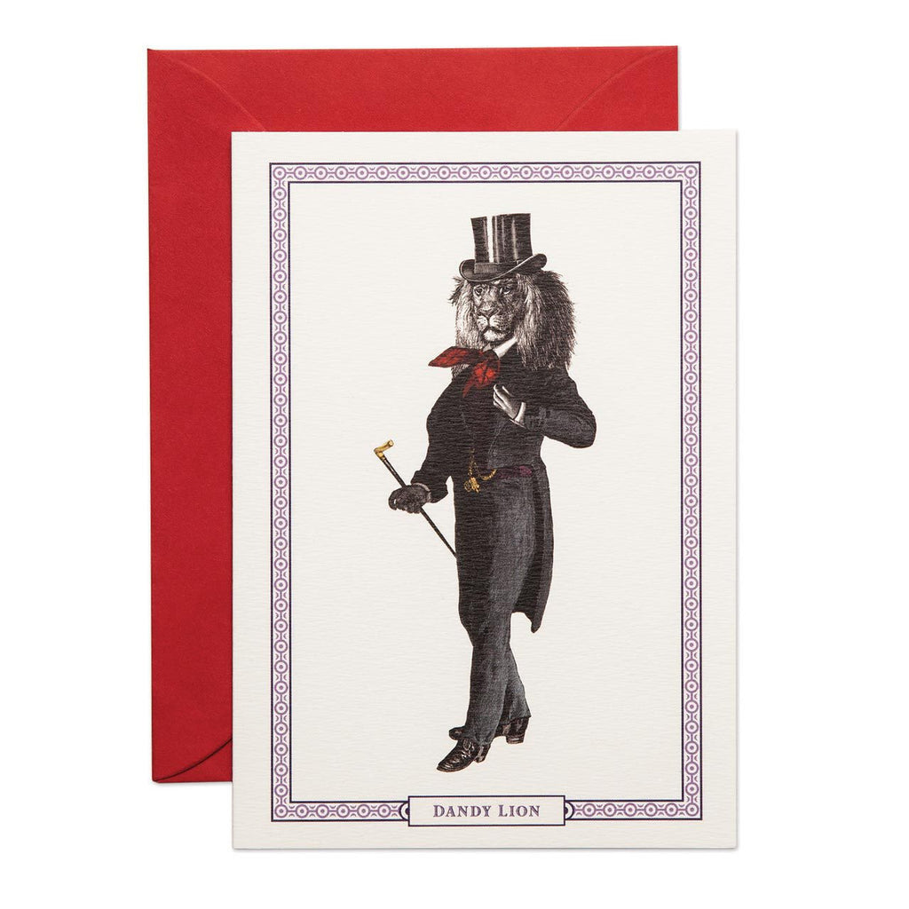 DANDY LION - GREETING CARD