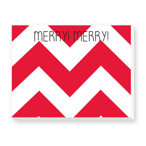 CHRISTMAS NOTEPAD - DON - MERRY MERRY