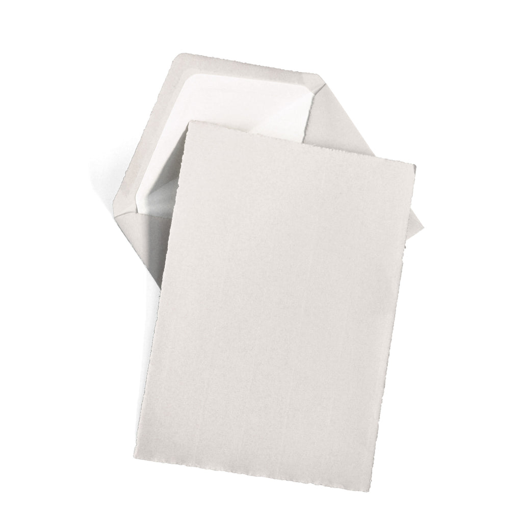BOXED SHEETS - OCM - GREY DECKLED EDGE