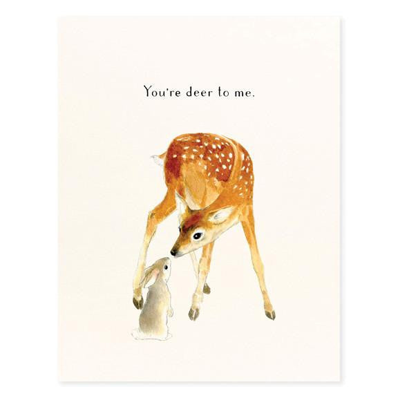 GREETING - FD - YOU'RE DEER TO ME