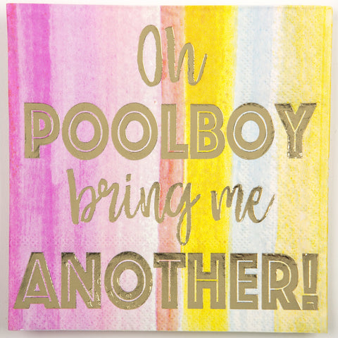BEVERAGE NAPKINS - DTHY - POOLBOY