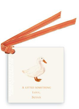BABY GIFT TAG - LB - DUCK