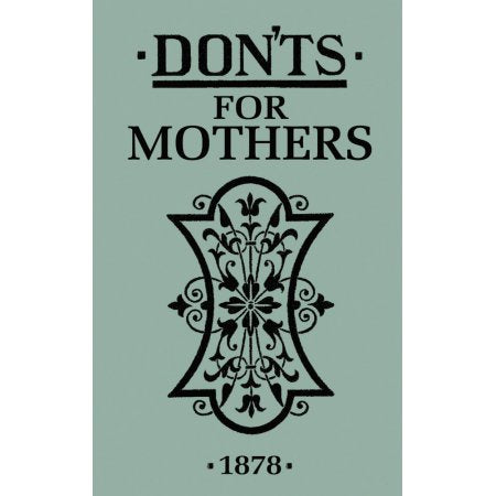 BOOK - BFS - DON'TS FOR MOTHERS