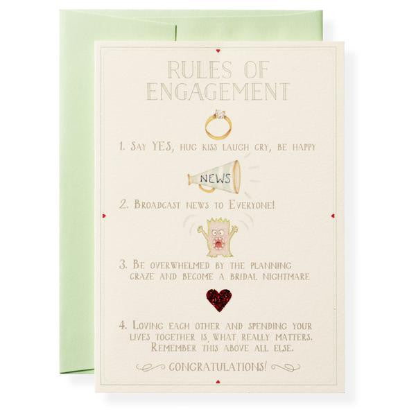 RULES OF ENGAGEMENT - GREETING CARD