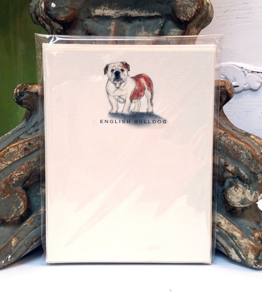 ENGLISH BULLDOG - NOTE CARDS