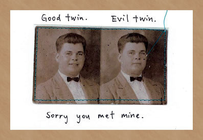 HUMOR - VT - EVIL TWIN APOLOGY