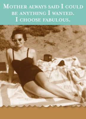I CHOOSE FABULOUS - MINI NOTES