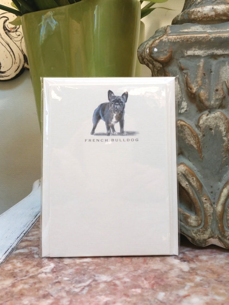 FRENCH BULLDOG - NOTE CARDS