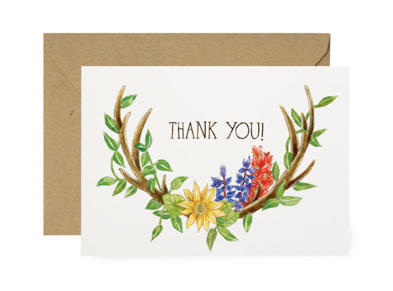 FLORAL - THANK YOU NOTE