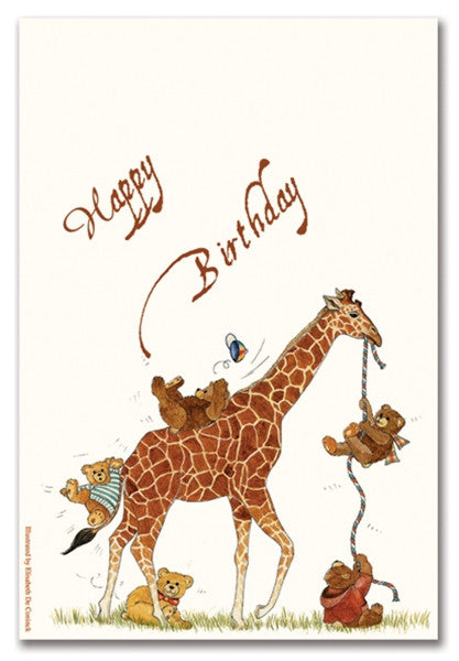 CHILD BIRTHDAY - OCM - GIRAFFE