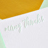 BOXED NOTECARDS - HP - GRACIOUS IN GOLD MINT THANK YOU SET OF 6
