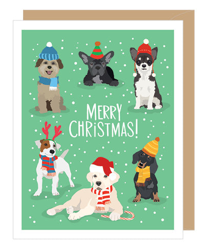 CHRISTMAS CARD - A2C - DOG CHRISTMAS