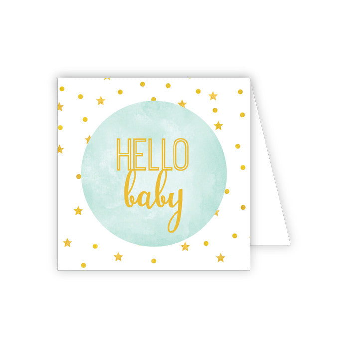 GIFT ENCLOSURE - RAB - HELLO BABY