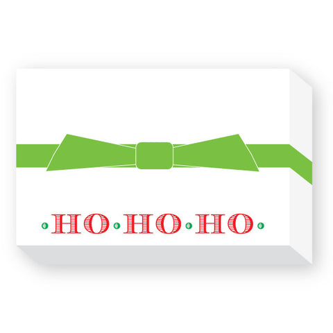 CHRISTMAS NOTEPAD - DON - HO HO HO