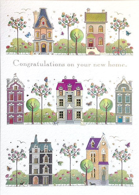 NEW HOME STREET - GREETING CARD
