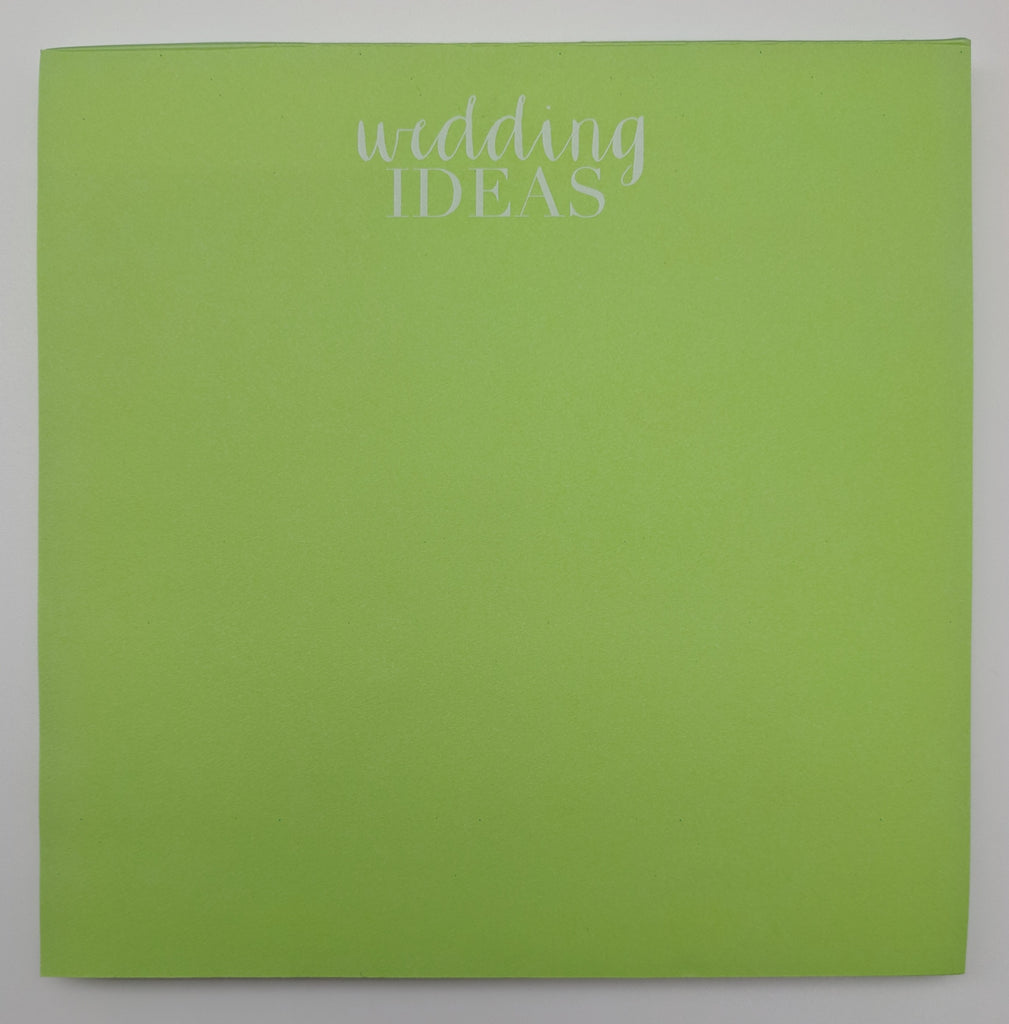 WEDDING NOTE PAD   - HP - WEDDING IDEAS