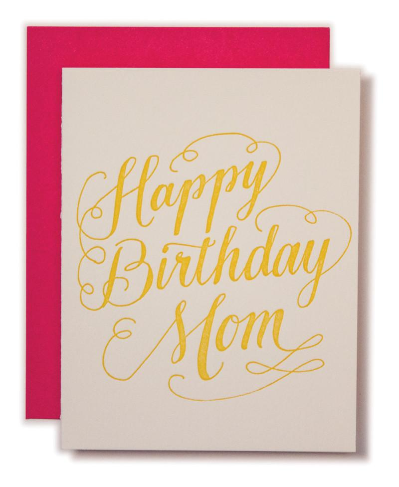 BIRTHDAY - LL - HAPPY BIRTHDAY MOM