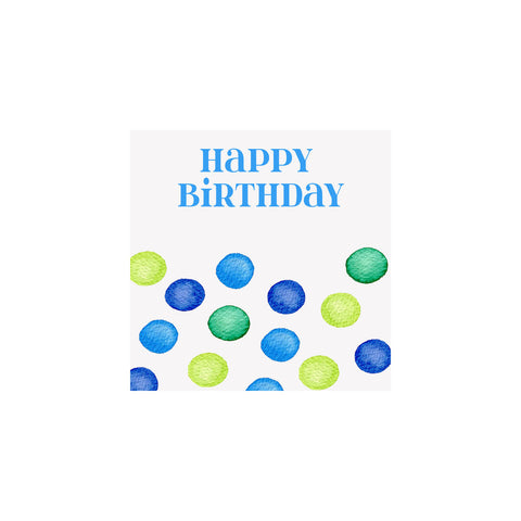 BIRTHDAY GIFT TAGS - BI - DOTS