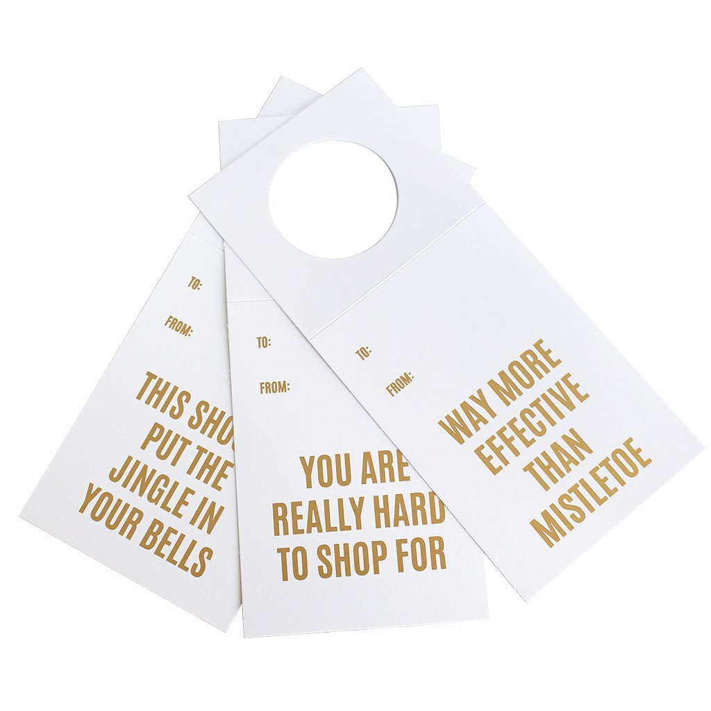 HOLIDAY WINE TAGS - CGL - SET OF 3 HOLIDAY TAGS
