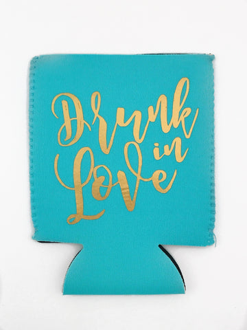 KOOZIE - TPB - TURQUOISE DRUNK IN LOVE