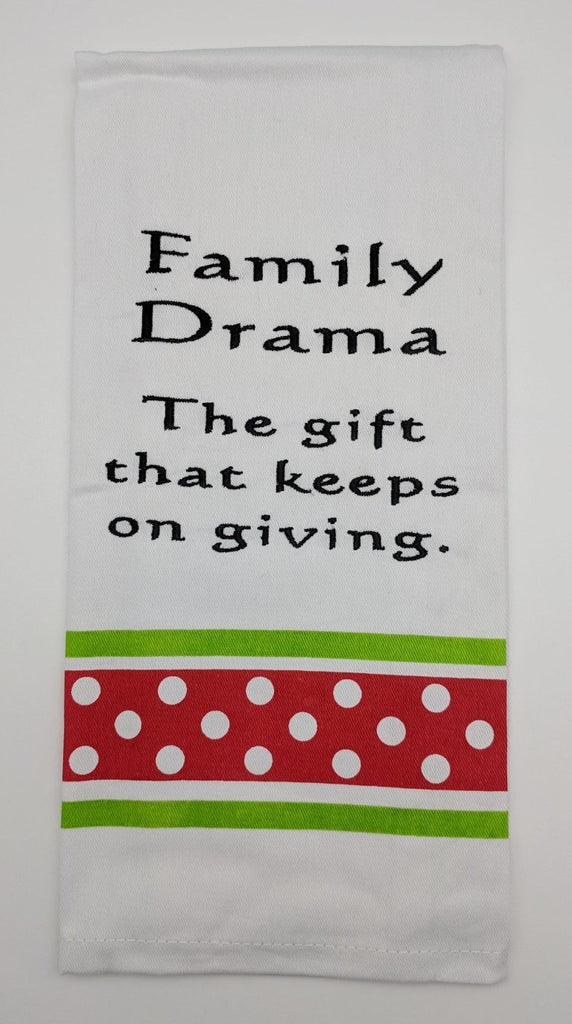 BAR TOWEL - WH - FAMILY DRAMA