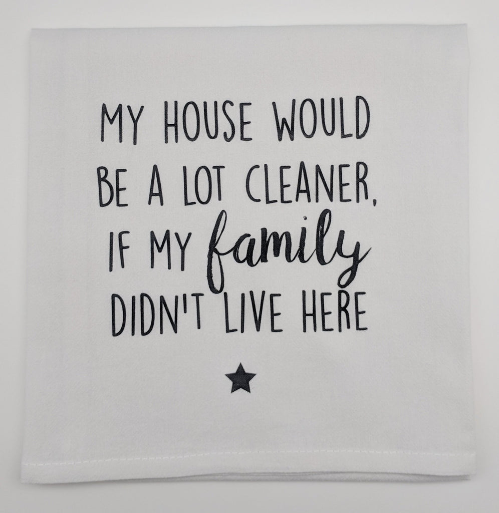 KITCHEN TOWEL - TLD - DIDN'T LIVE HERE
