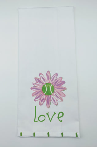 KITCHEN TOWEL - LDD - TENNIS LOVE DAISY