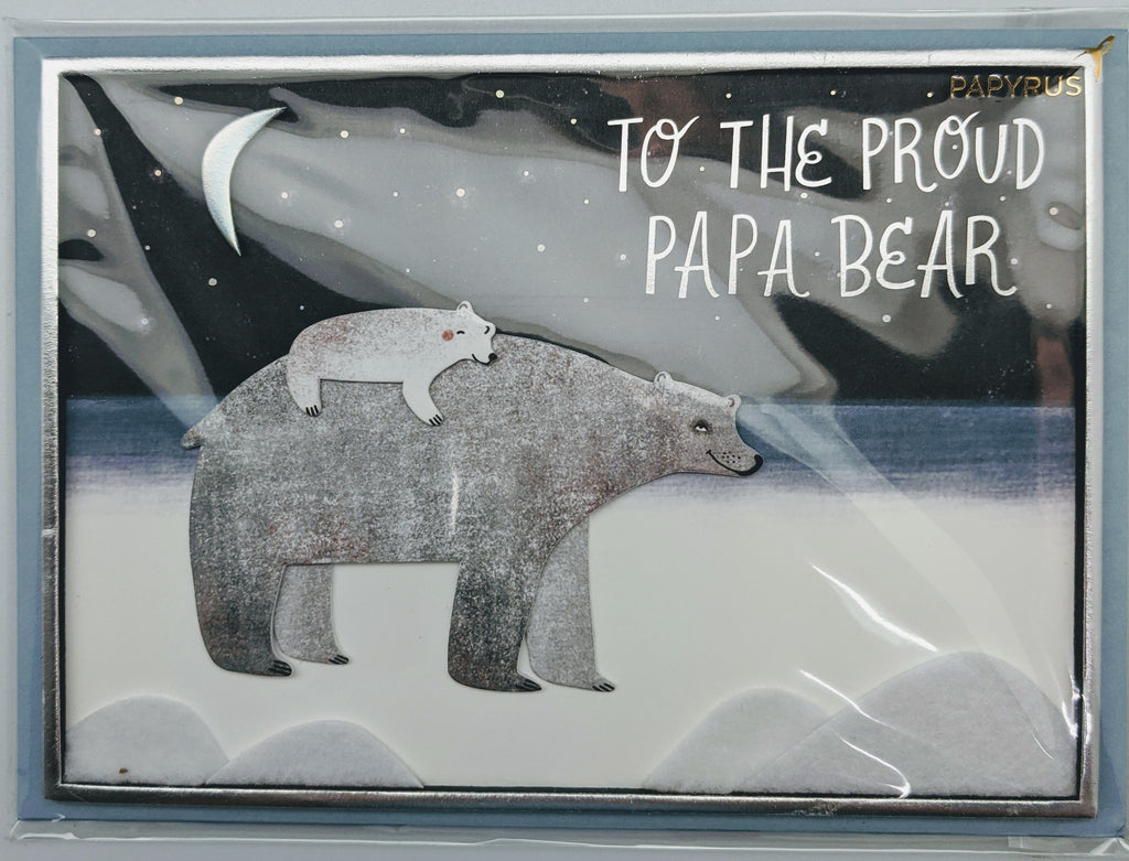 FATHER'S DAY - PPDMS - PROUD PAPA BEAR