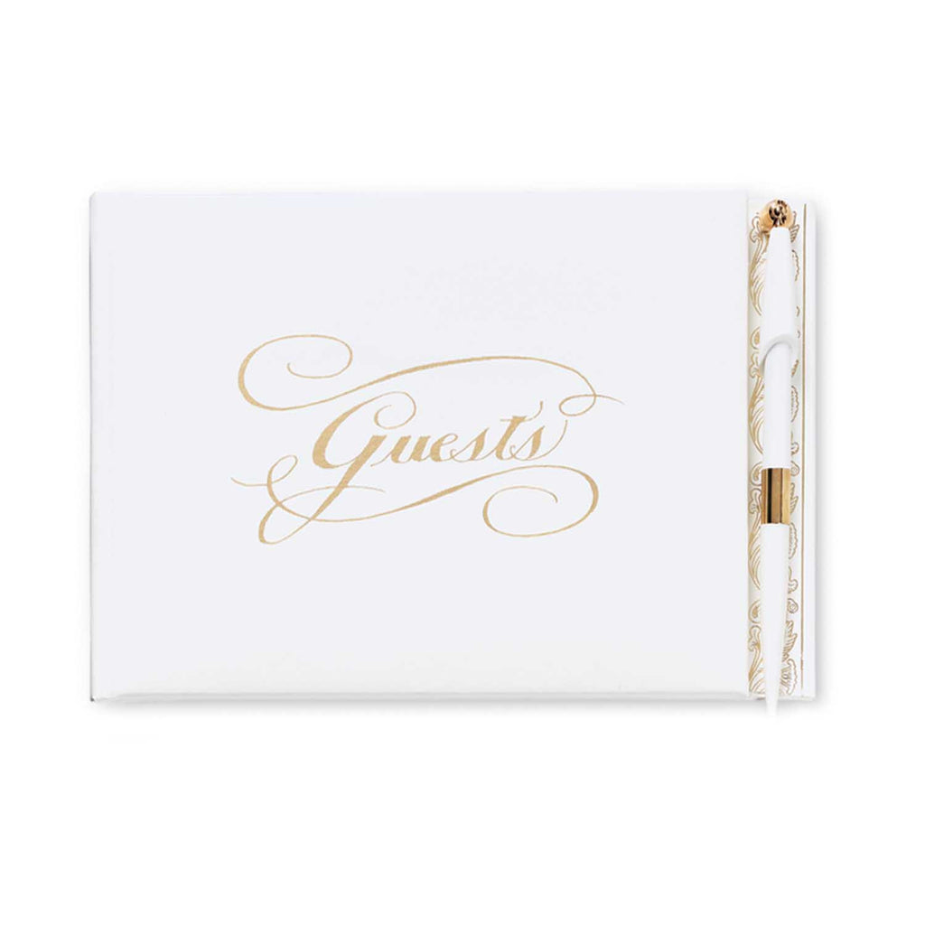GOLD FOIL STAMPED - GUEST BOOK
