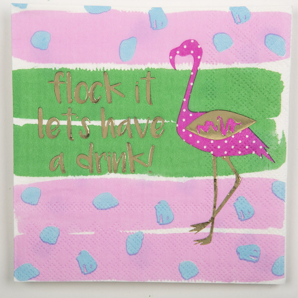 BEVERAGE NAPKINS - DTHY - FLOCK IT