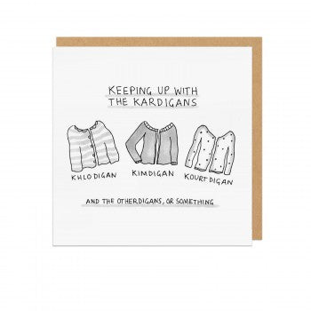 THE KARDIGANS - GREETING CARD