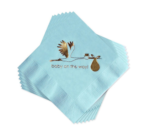 BABY BOXED NAPKINS - AP - BABY ON THE WAY