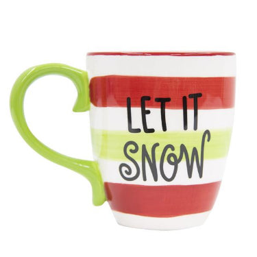 CHRISTMAS MUG -MSC- LET IT SNOW